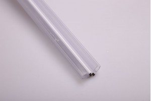 15.22.310-0 PVC уплътнител стъкло-стъкло с магнит135 гр. 6мм