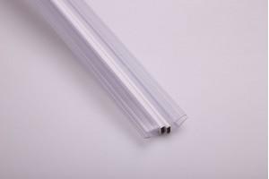 15.22.311-0 PVC уплътнител стъкло-стъкло с магнит135 гр. 8мм