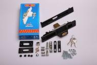 КА 380 Кликлок с двустранен патрон MAKEDONIKI черен