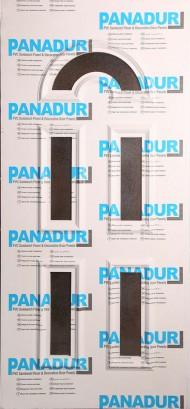 PND - 1013 - бял без растер с 5 стъкла