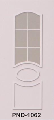 PND - 1062 - бял златен растер с 1 стъкло /голямо/
