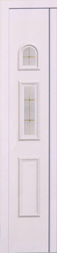 PND - 1015 - В 1/2 бял 3 стъкла със златен растер